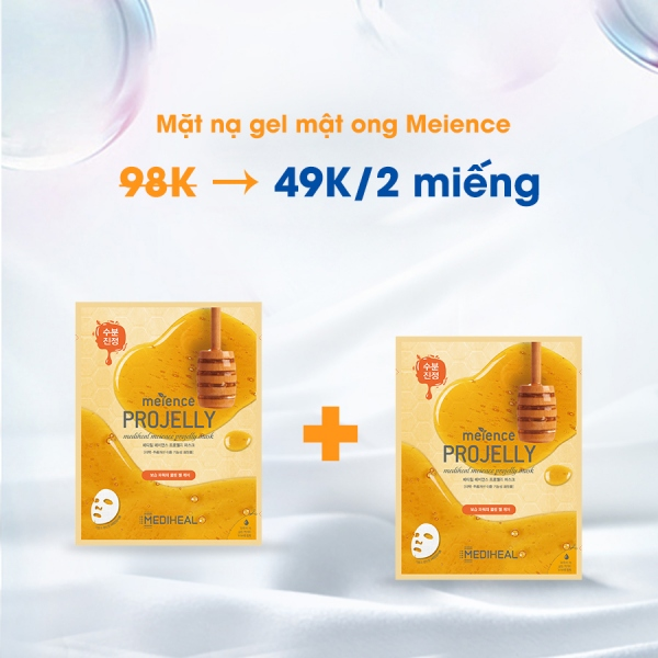 Mặt nạ gel mật ong Meience