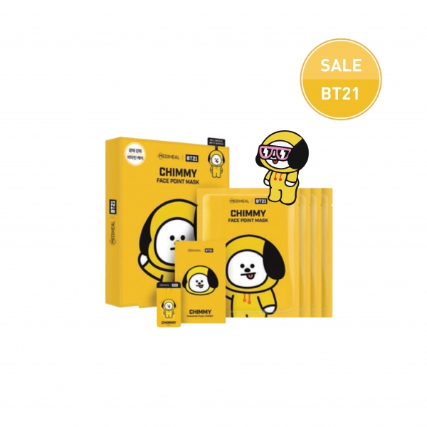 MEDIHEAL | BT21 CHIMMY Face Point Mask