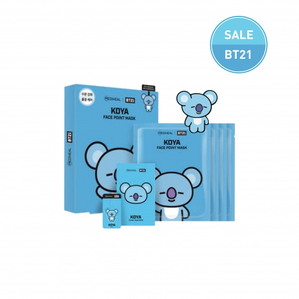 MEDIHEAL| BT21 KOYA Face Point Mask